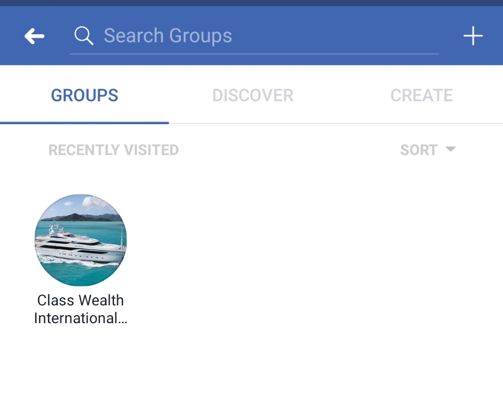 """Facebook App - Group Search"""